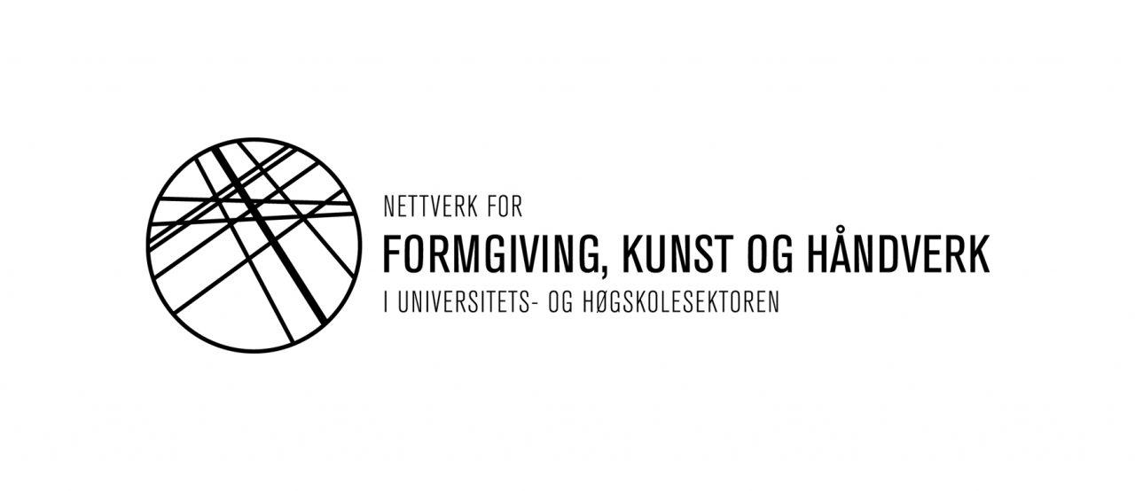 Logo Nettverk for formgiving, kunst og håndverk