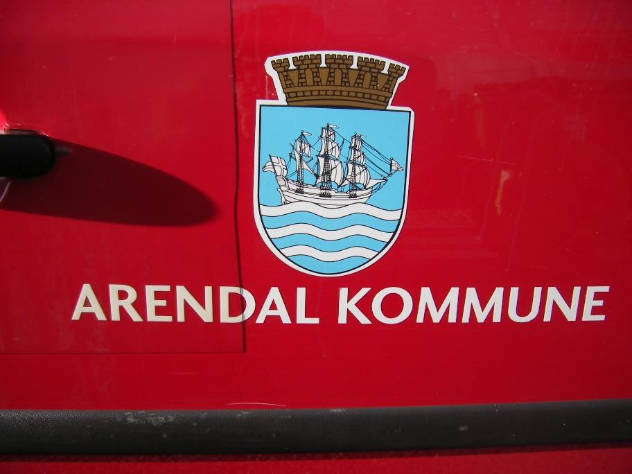 Kommunevåpen Arendal.