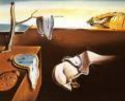 Surrealistisk kunst i jordfarger.Salvador Dali.