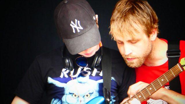Dissimilis instruksjon gitar