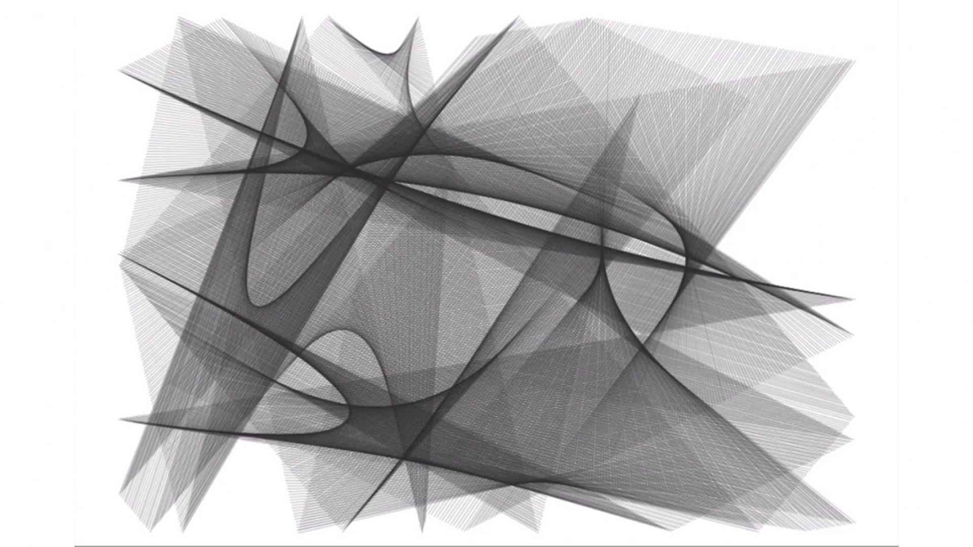 Programmerte linjer, former og flater.