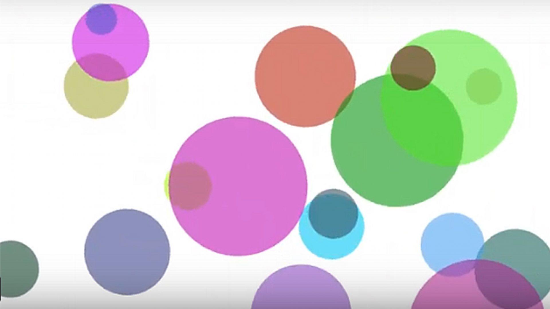 Fargede sirkler