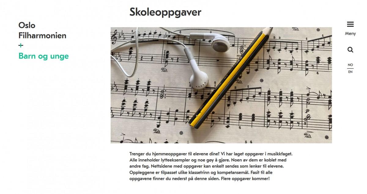 Screenshoot Oslo Filharmonien