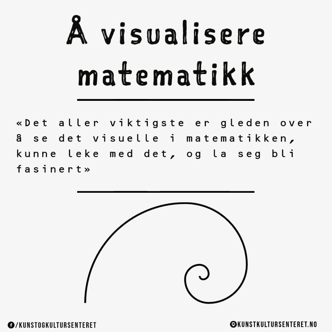 Denne lenken går til ressursen Å visualisere matematikk på kunstkultursenteret.no