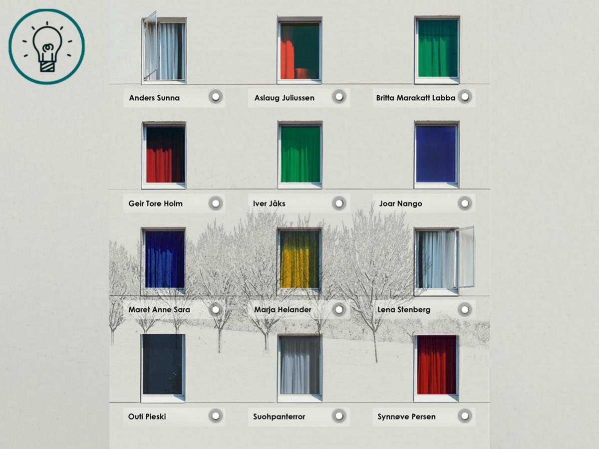 Illustrasjonsbilde av vinduer for en lenkesamling