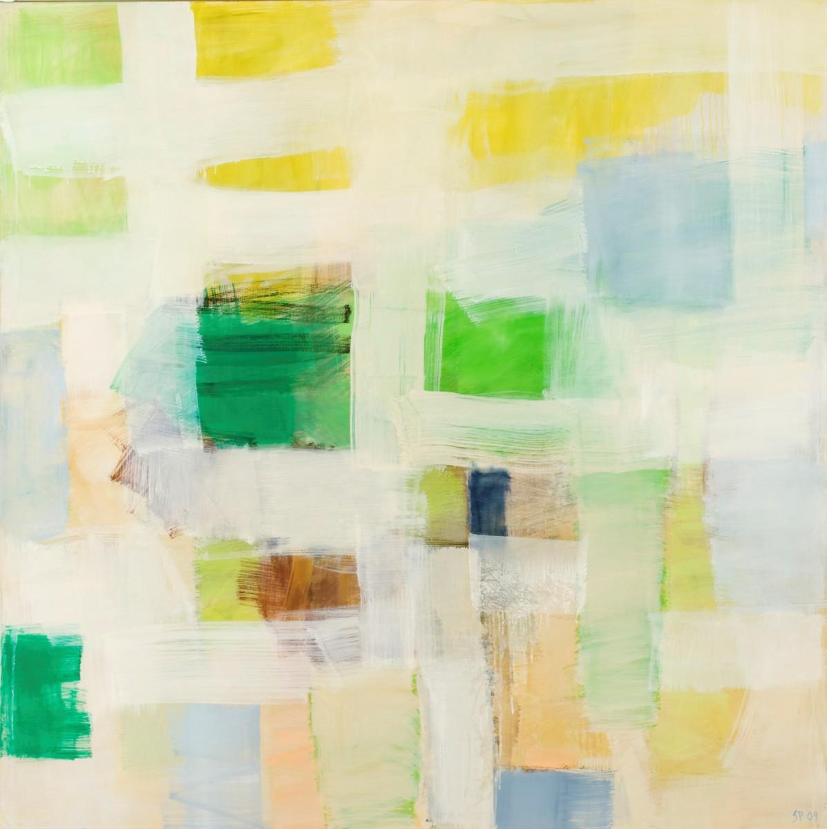 Abstrakt maleri.
