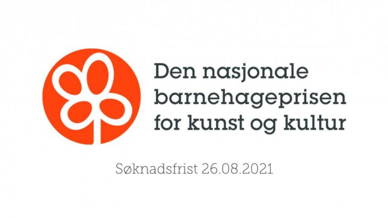 Kampanjebanner for Den nasjonale barnehageprisen for kunst og kultur 2021.